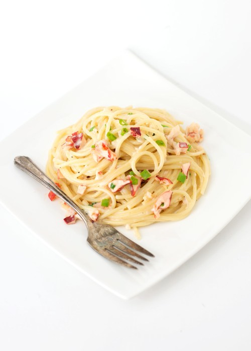 Lobster Alfredo | bsinthekitchen.com #dinner #pasta #bsinthekitchen