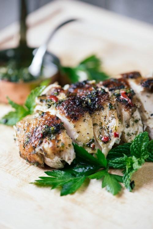 Chimichurri Chicken | bsinthekitchen.com #chicken #chimichurri #bsinthekitchen