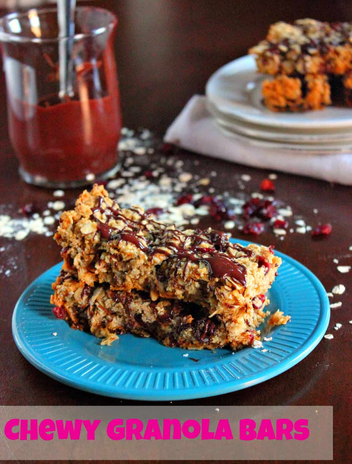 Chewy Granola Bars - Brown Sugar