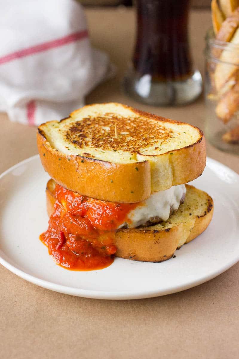 Italian Meatball Burger