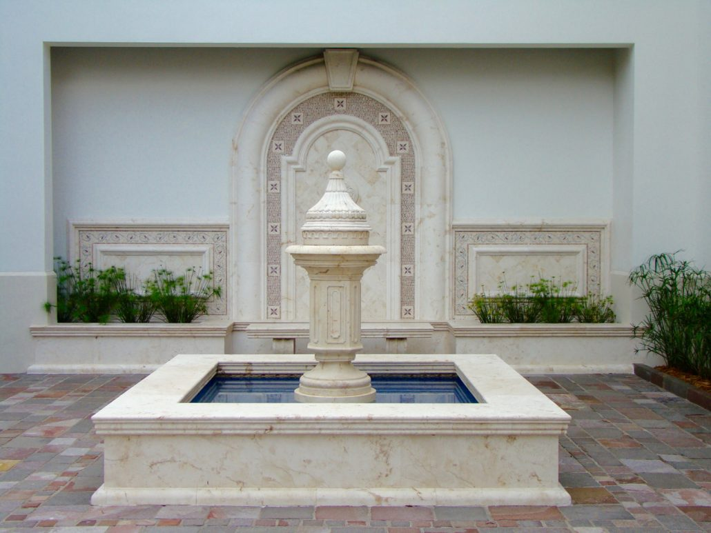 Exterior Landscaping Fountains - Bt Architectural Stone