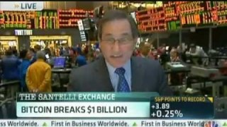 Rick Santelli Discusses The Possibility of Bitcoin ATMs In Cyprus & The US