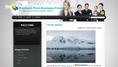 Business blog templates costumepartyrun business accmission Choice Image