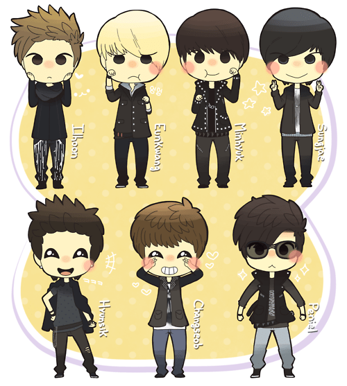 Shinee Dream Girl Wallpaper Photo Btob Chibi Version Btob Updates