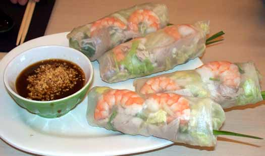 Phobulous - Pork and Shrimp Salad Roll