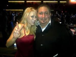 Mark with Katie Morgan