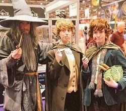 Gandalf and Hobbits