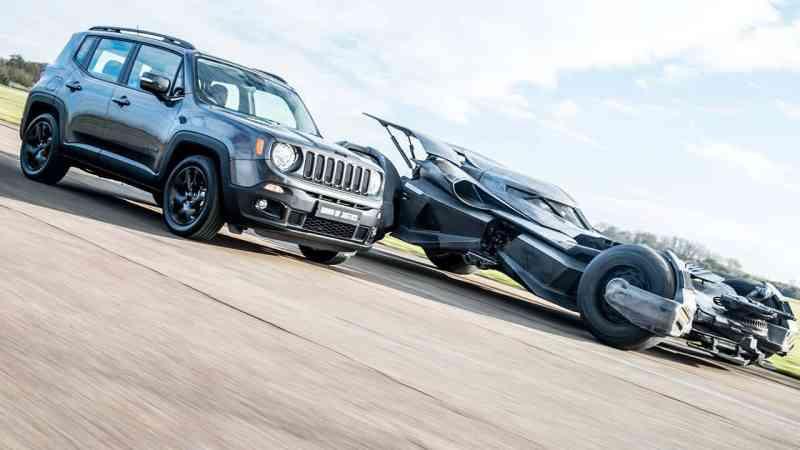 Batmobile & Jeep Renegade