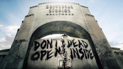 Universal Studios Walking Dead Walkthrough Review