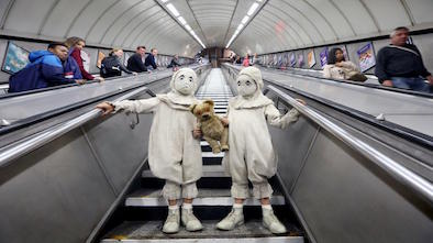 Tim Burton's Twins Unleashed in London