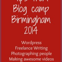 blog camp tips