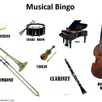 Musical Bingo for children - Bubbablue and me