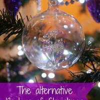 alternative 12 days of christmas - Bubbablue and me