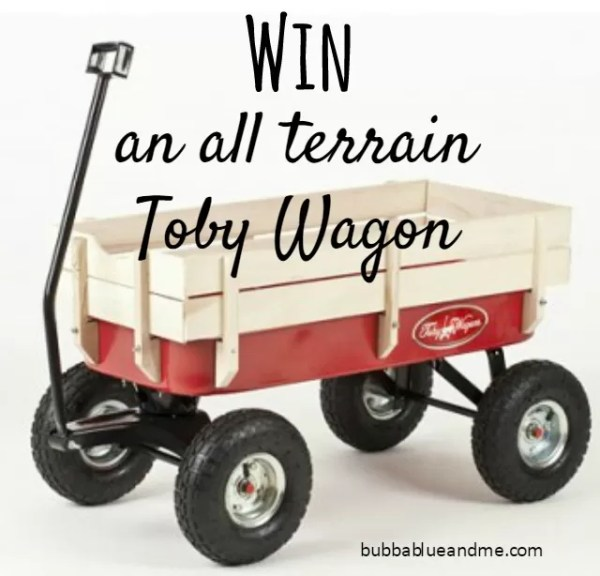 Win an all terrain Toby Wagon via Loubilou.com