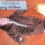 The 10 positions of sleeping children