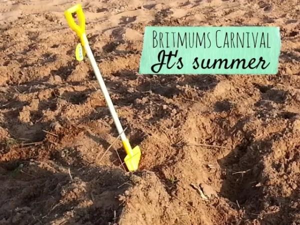 Britmums carnival summer theme - Bubbablueandme