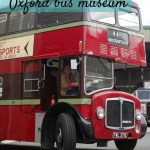 Riding vintage buses at Oxford Bus Museum