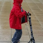 Micro Scooters rule – one boy and his scooter