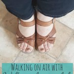 Walking on air with Wolky wedge sandals – giveaway starts 23rd May