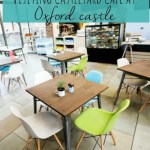 Visiting Castleyard cafe and mooching round Oxford