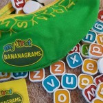 Picking up letters with My First Bananagrams