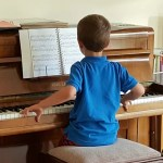 My Sunday Photo – piano playing