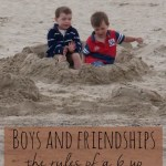 Friends – the rules for a 6 year old boy