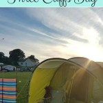 Camping at Three Cliffs Bay campsite