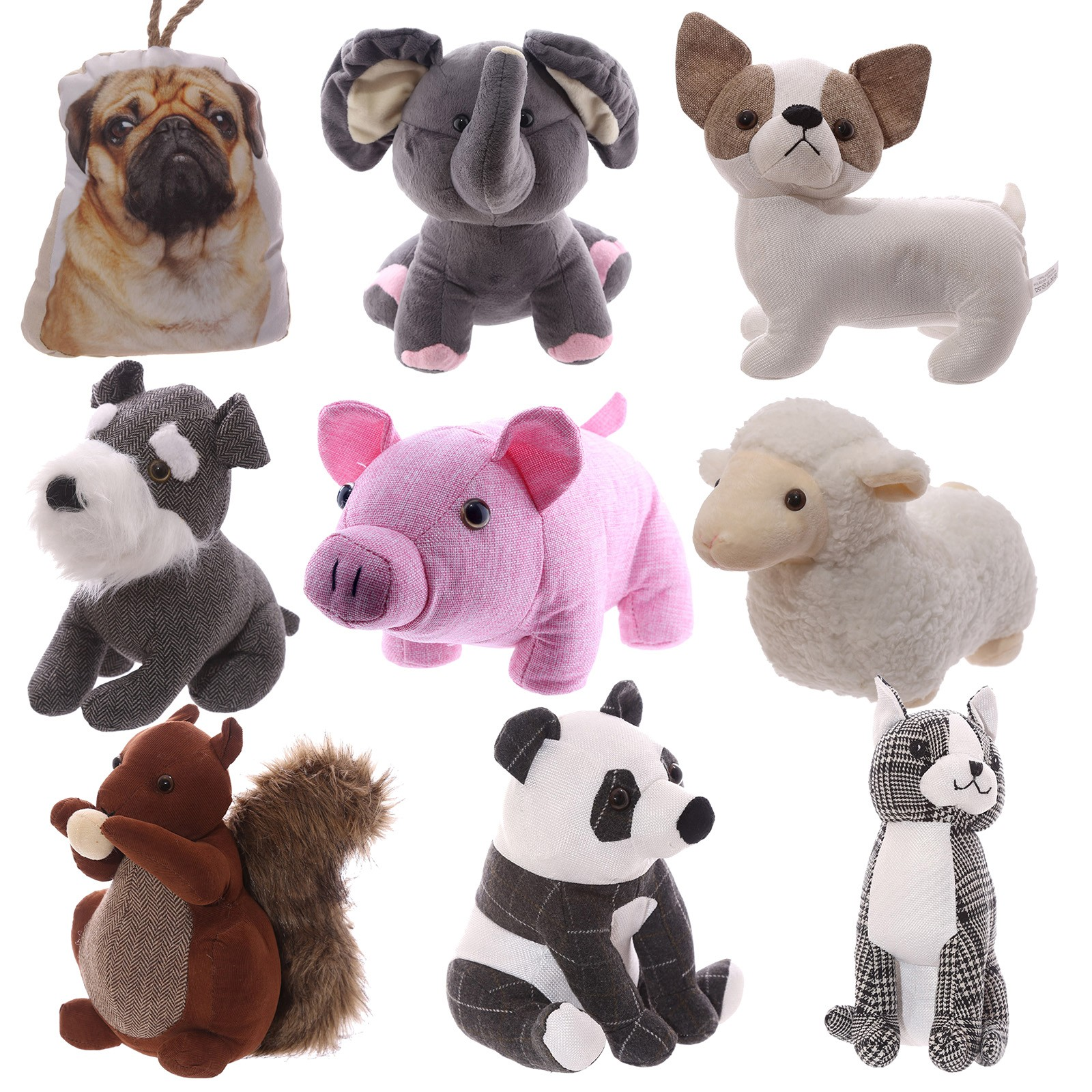 Animal Door Stops Uk Selection Of Cute Animal Shaped Household Door Stops Bubble And