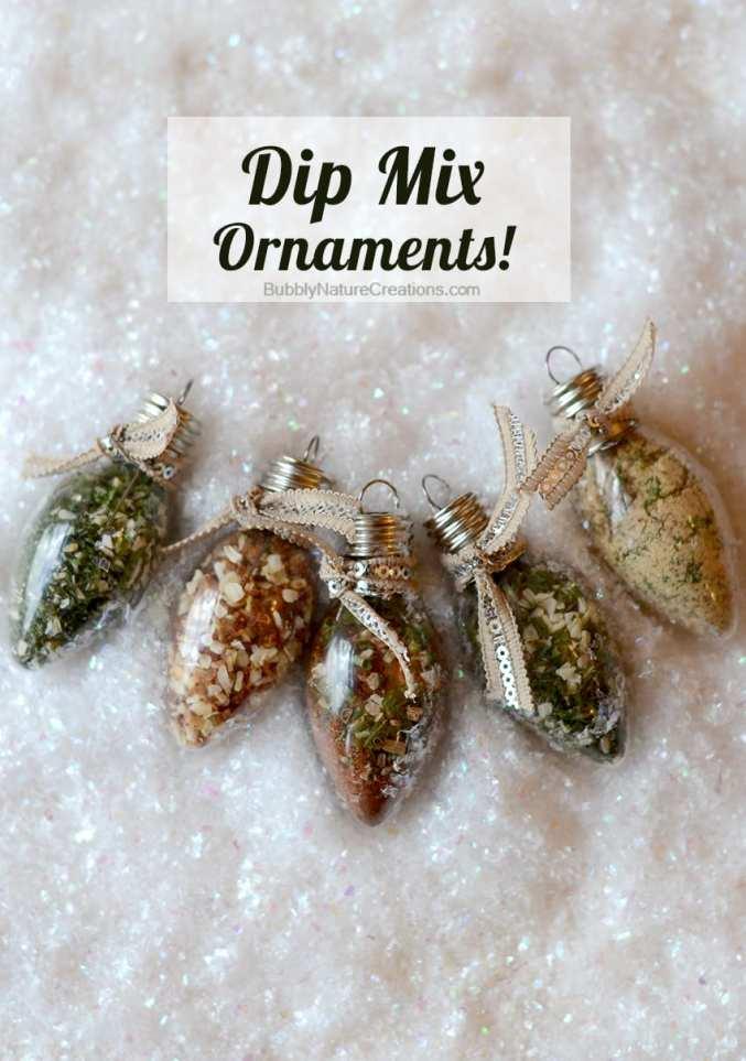 Dip Mix Ornaments 1