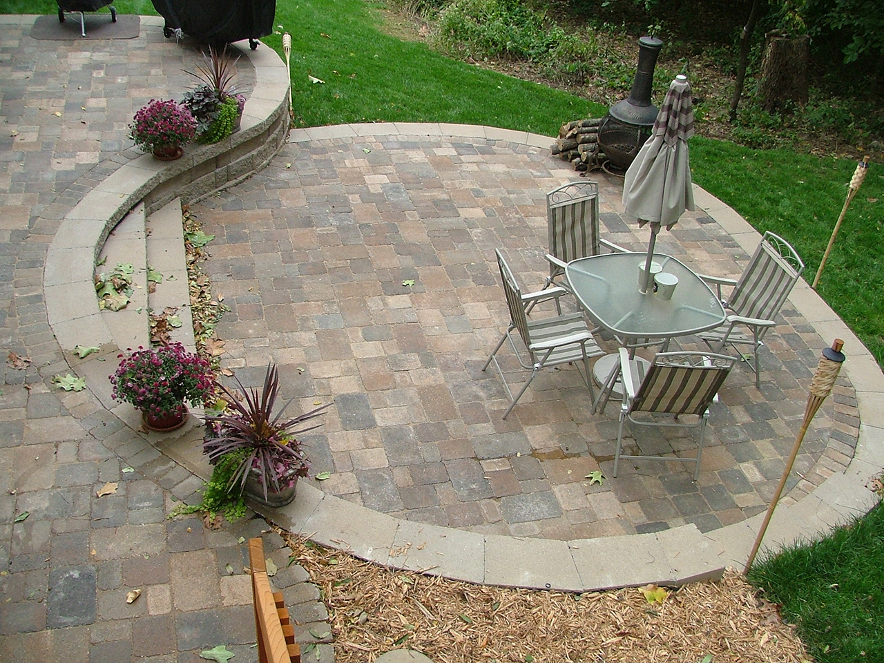 Patio Design Ideas Multi Level Concrete Patio Buchheit Construction
