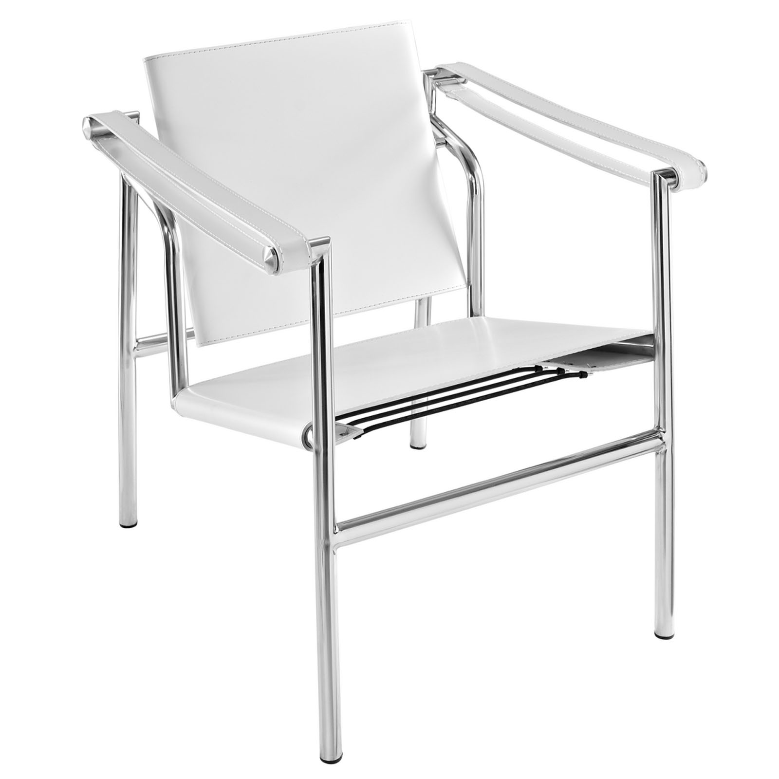Sessel Lc1 Lc1 Sessel Weiss Cassina Le Corbusier