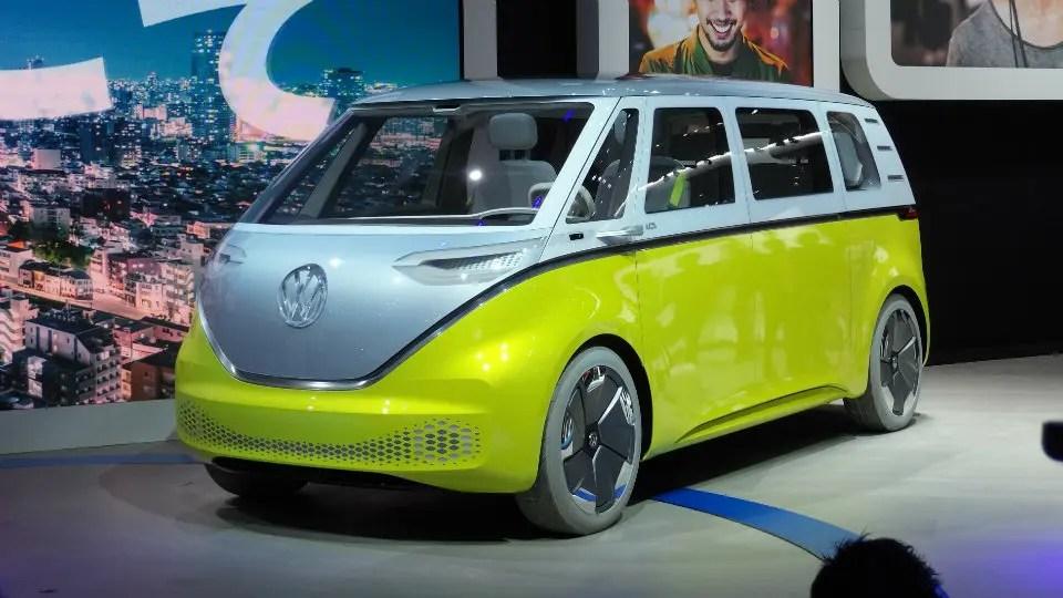 Volkswagen I.D Buzz Concept Tokyo Motor Show