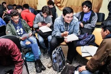 Simulacro de la Cumbre del G20 con alumnos