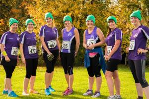 From left to right; Linda, Sarah C, Anke, Debbie, Emma, Jane and Sarah G