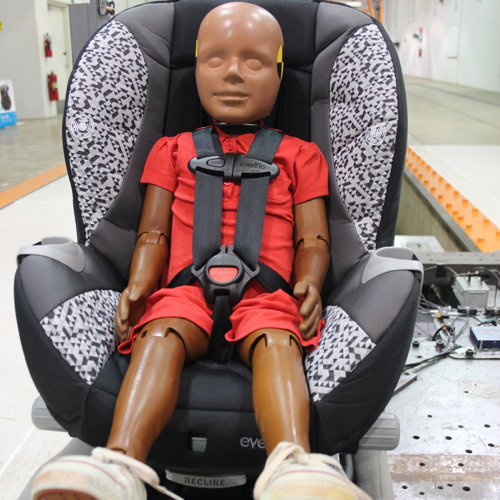 Baby Car Seat Test Behind The Scenes Tether Vs No Tether Video Buckle Up