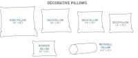 12 New Throw Pillows Sizes | Sectional Sofas