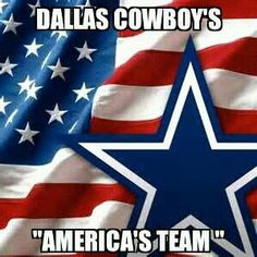 Cowboys still Americas Football Team?