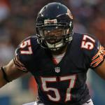 Patriots trade draft pick to the Bears for LB
