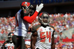 The Buccaneers rolling on offense