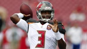 Jameis begins NFL career with a pick six, but that day his leadership skills emerged.