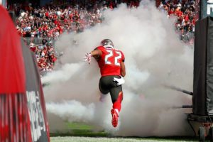 Doug Martin predicted to be 6th in rushing.