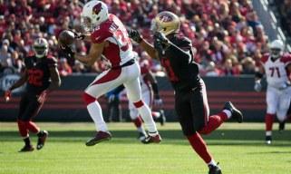 USP NFL: ARIZONA CARDINALS AT SAN FRANCISCO 49ERS S FBN USA CA