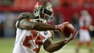 The Buccaneers waive two after adding one.