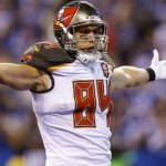Bucs tender exclusive-rights free agent Cameron Brate.