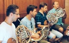 HORNBLAST | cvartet de corni francezi | 8 oct