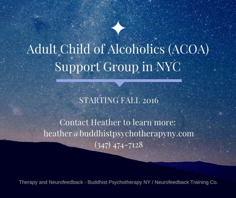 Support group adult child