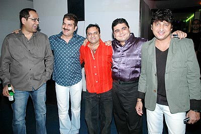 Deven Bhojani with friends
