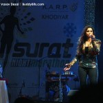 Shreya Ghoshal at Surat Night Marathon 2014