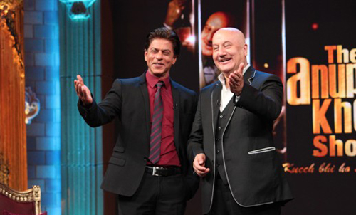 Shahrukh Khan on The Anupam Kher Show
